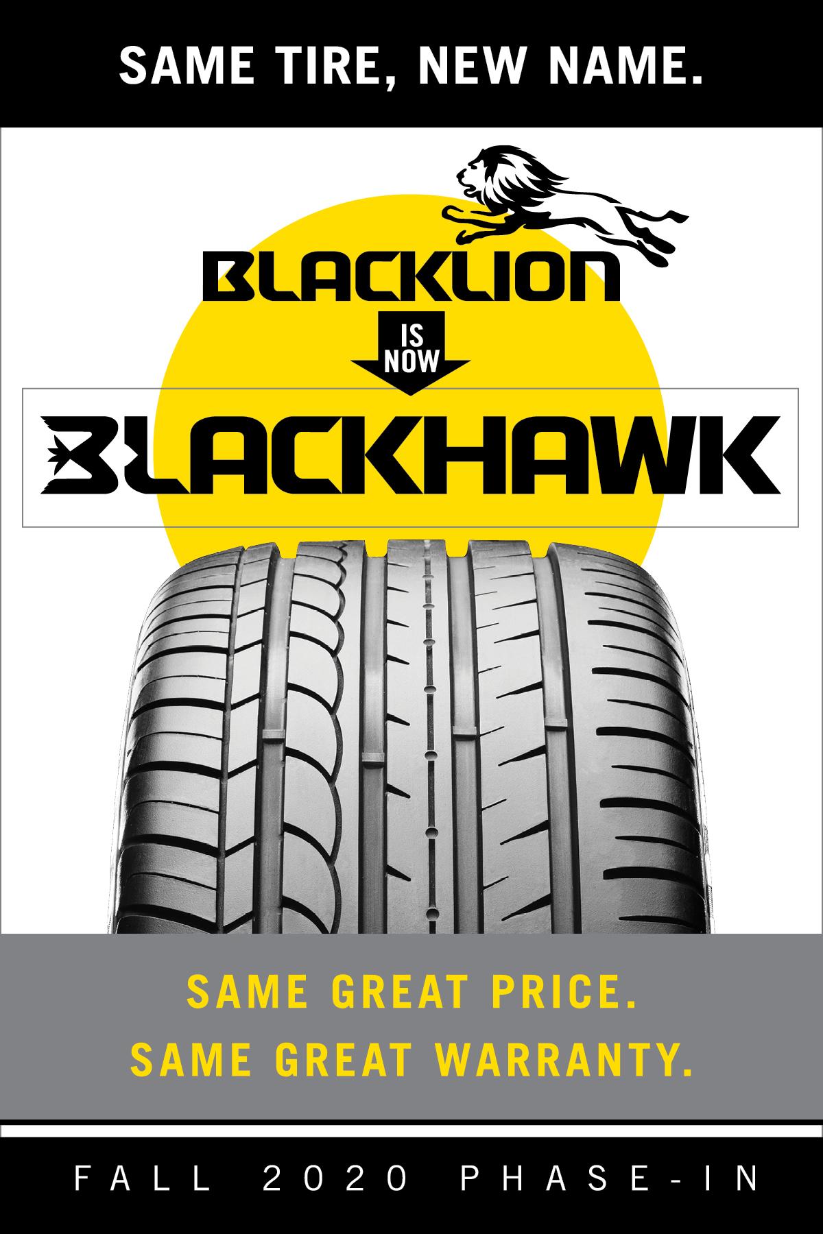 Blacklion is now Blackhawk